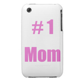 #1 Mom iPhone 3 Cover