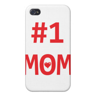 #1 Mom Case For iPhone 4