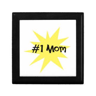 #1 Mom Jewelry Box