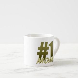 #1 Mom Mother's Day Espresso Mug