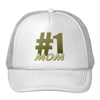 #1 Mom Mother's Day Trucker Hat