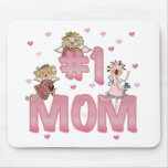 #1 Mom Mouse Pad
