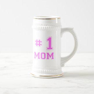 #1 Mom (Number One Mom) Beer Stein