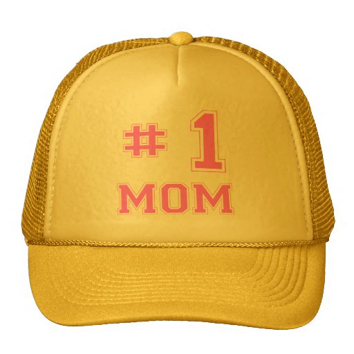 #1 Mom (Number One Mom) Mesh Hat
