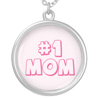 #1 Mom Number One Mom Necklace