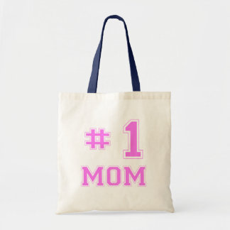#1 Mom (Number One Mom) Tote Bag