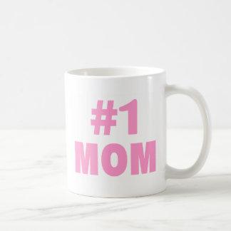 #1 Mom (Pink) Coffee Mug