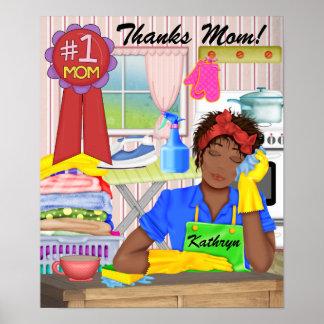 # 1 Mom Poster - SRF