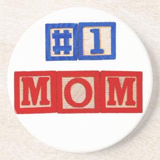 #1 Mom Round Coaster