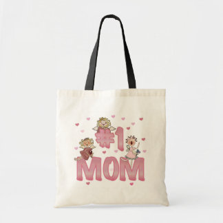 #1 Mom T-shirts and Gifts Tote Bag