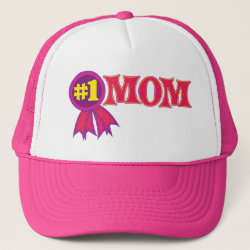 #1 Mom Award Trucker Hat