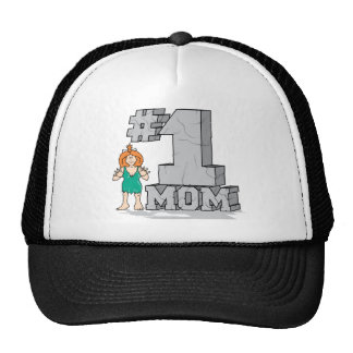#1 Mom Trucker Hat