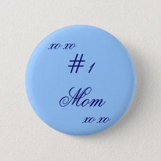 """""""# 1 Mom XO XO"""" Button"""