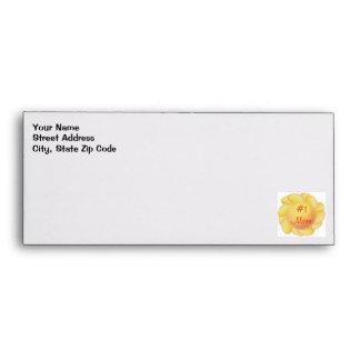 #1 Mom (yellow flowers) Envelope