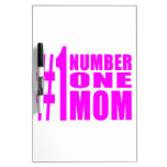 #1 Moms Birthdays & Christmas : Number One Mom Dry-Erase Whiteboard