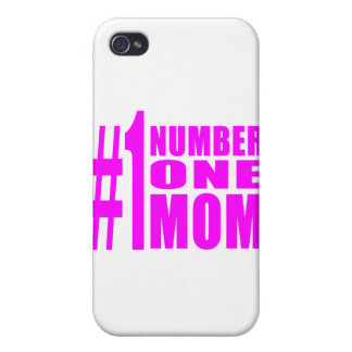 #1 Moms Birthdays & Christmas : Number One Mom Cases For iPhone 4
