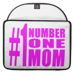 #1 Moms Birthdays & Christmas : Number One Mom Sleeve For MacBook Pro