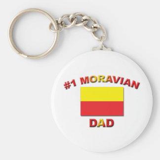 #1 Moravian Dad Key Chains