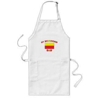 #1 Moravian Dad Long Apron