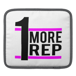 1 More Rep in Pink Sleeve For iPads