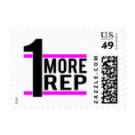 1 More Rep in Pink Stamps