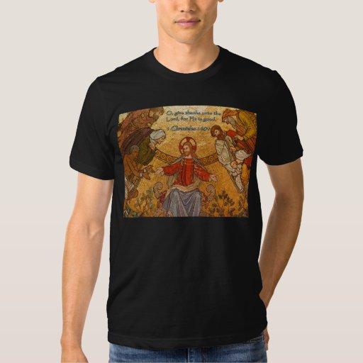 1 mosaico de Jesús del 16:34 de las crónicas Playeras