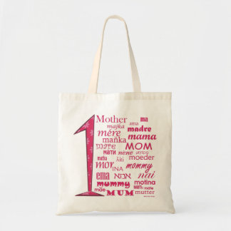 # 1 Mother Budget Tote Bag