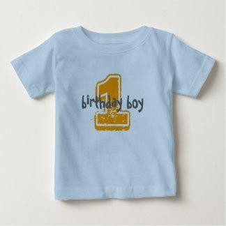 1, muchacho del cumpleaños polera