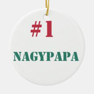 #1 Nagypapa Ceramic Ornament