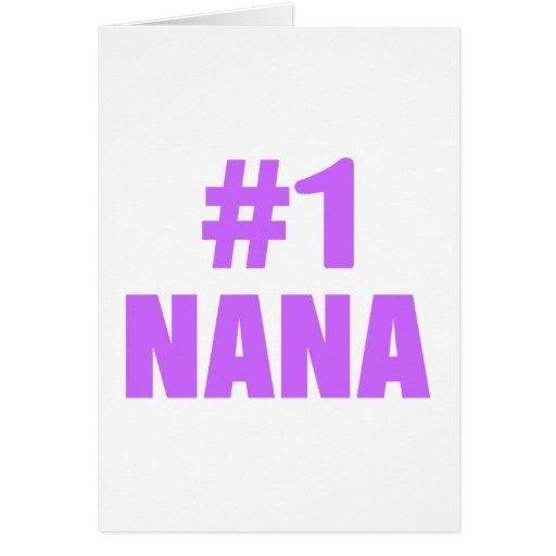 #1 Nana Card