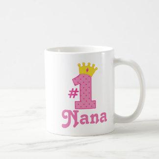 #1 Nana Gift Coffee Mug