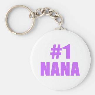 #1 Nana Keychain