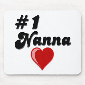 #1 Nanna Grandparent's Day Gifts Mouse Pad