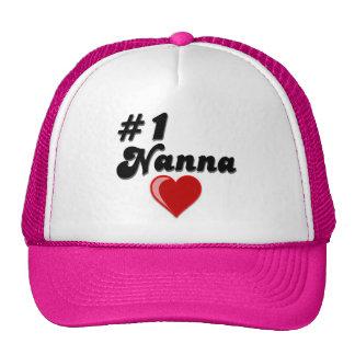 #1 Nanna Grandparent's Day Gifts Trucker Hat