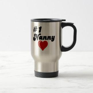 #1 Nanny - Celebrate Grandparent's Day Mug