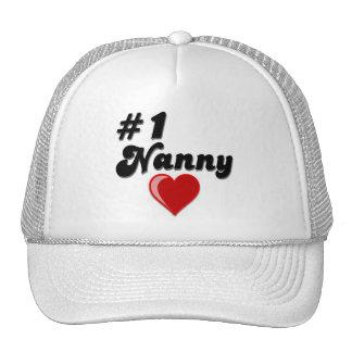 #1 Nanny - Celebrate Grandparent's Day Trucker Hat