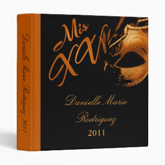 """1"""" naranja del Mis XV del libro de recuerdos de la Carpeta 1"""""""