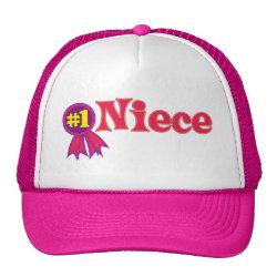 Trucker Hat with #1 Niece Award design