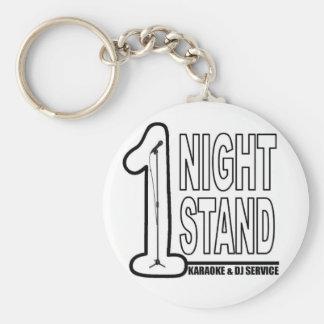 1 Night Stand Keyring. Keychain