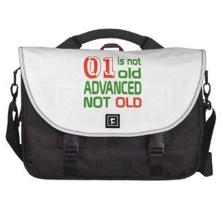 1 no es no viejo avanzado viejo bolsas para portátil