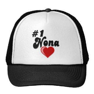 #1 Nona - Celebrate Grandparent's Day Trucker Hat