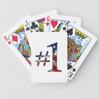 #1 (número 1) baraja de cartas