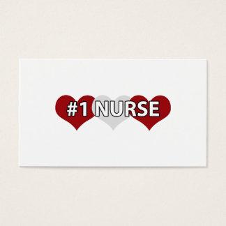 #1 Nurse Business Card