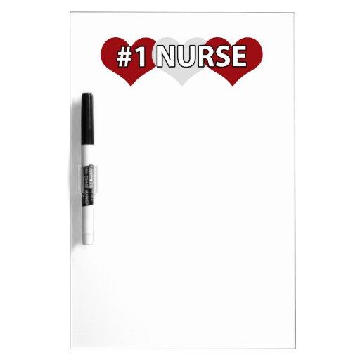 #1 Nurse Dry-Erase Whiteboard