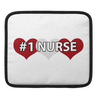 #1 Nurse iPad Sleeve