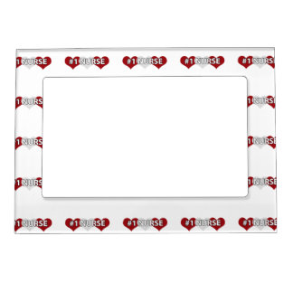#1 Nurse Magnetic Picture Frame