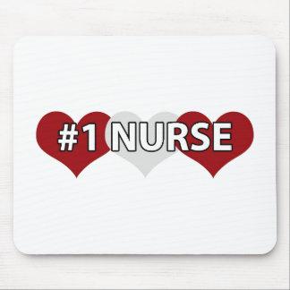 #1 Nurse Mouse Pad