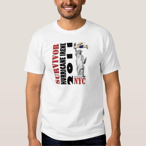 #1 NYC Survived Hurricane Irene T-shirt
