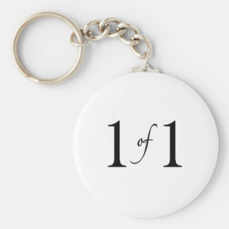 1 of 1 (Only Child) Keychain