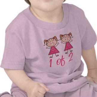 1 Of 2 Pink Girls T Shirt
